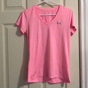 Under armours pink ActiveTee
